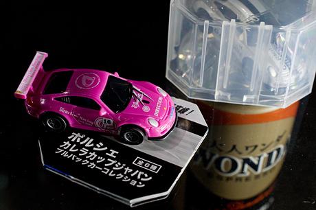 WONDA 大人ワンダ「ポルシェ カレラカップジャパン プルバックカーコレクション」ゲット