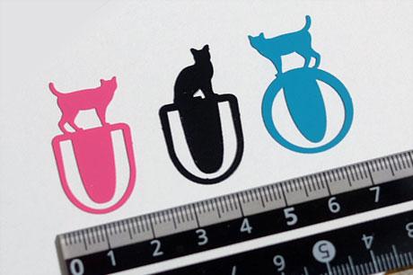 キャンドゥで猫型のブックマーカー「ブックマーカースチール 5P」を捕獲!(これで100円シリーズ)