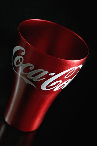 コカ・コーラのオリジナル「アルミタンブラー」を入手したっす