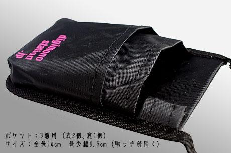 3ポケット「楽モバケース2」ゲット(デジモノステーション12月号付録)