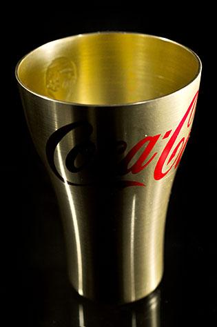 コカ・コーラのオリジナル「トロフィータンブラー」ゲット!アルミタンブラー再びっす