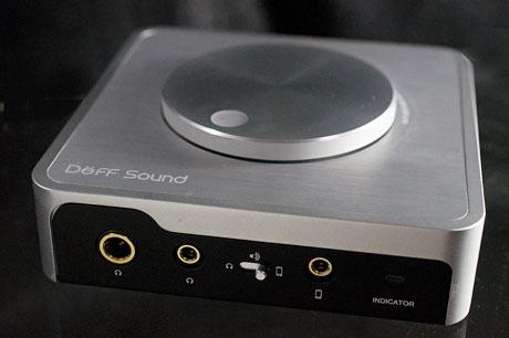 Deff「DDA-DAC1U」は、ハイレゾ対応の豊かな音場を再現できるスタイリッシュなUSB DAC&ヘッドホンアンプ!