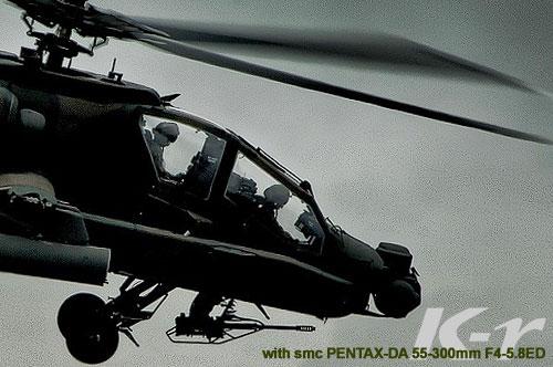 PENTAX「K-r」と「smc PENTAX-DA L 55-300mmF4-5.8 ED」で楽しむ総合火力演習(そうかえん)