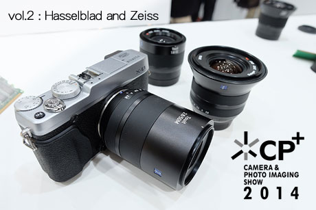 [CP+2014:Zeiss,Hasselblad篇] CMOS搭載の「H5D-50c」と新作Zeissを試してみたよ