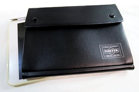 smart12月号「PORTER 収納ポケット付きレザー装ノートブック&ボールペン」ゲット